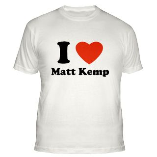 Love Matt Kemp T Shirts  I Love Matt Kemp Shirts & Tees