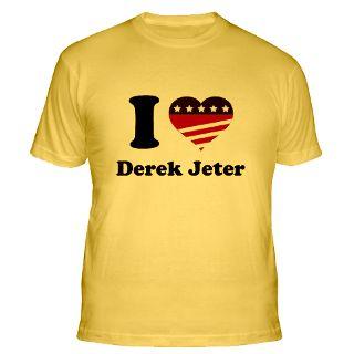 Love Derek Jeter Gifts & Merchandise  I Love Derek Jeter Gift Ideas