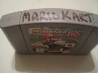 Nintendo 64 Mario KartClassic Racing Game. In US/Canadian NTSC