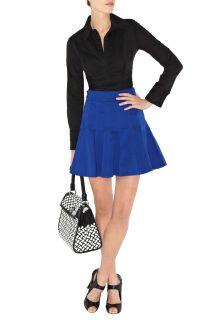 BNWT Karen Millen Black Shirt HN004 Size 6