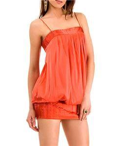 M43 $178 Marciano Guess Kasia Top Silk Bubble Dress