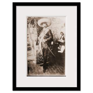 Emiliano Zapata Mexican Revolution Framed Print