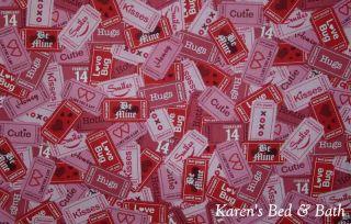 Valentine Day Theater Movie Tickets Teen Pink Curtain Valance