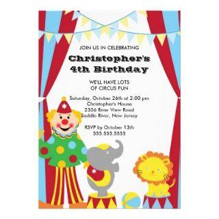 Kids Birthday Party Invitation invitations by celebrateitinvites