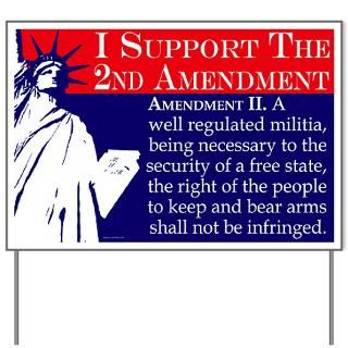Proud Liberal Bumper Stickers and Shirts  Support the 2nd Amendment