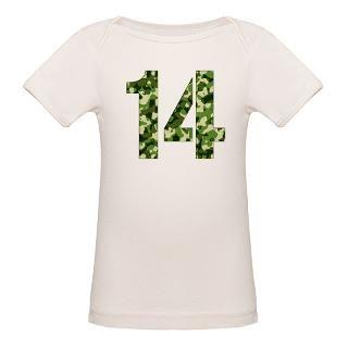 Number 14, Camo Tee