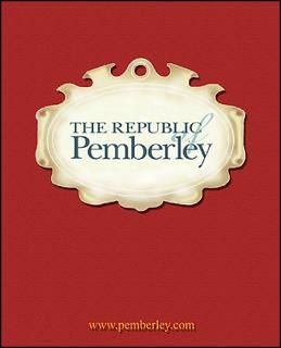 of the republic of pemberley $ 20 00 qty availability product number