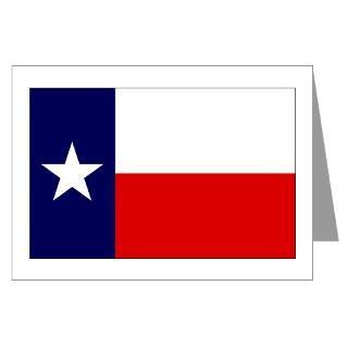 Texas Flag Blank Greeting Cards (6)  Texas Lone Star Flag