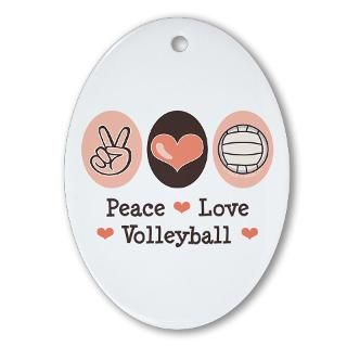 Volleyball Player Christmas Ornaments  Unique Designs