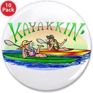 Gifts  Best Friends Buttons  kaYakkin 3.5 Button (10 pack