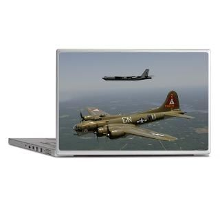 Air Forces Gifts  Air Forces Laptop Skins  B 17 Laptop Skin