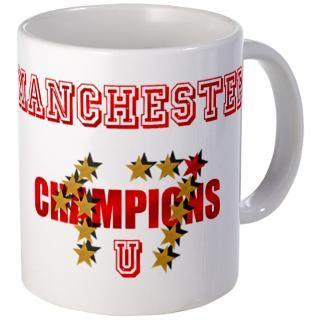 Manchester 17 Stars Mug