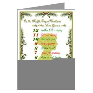 Greeting Cards  Jane Austen Christmas Greeting Cards (Pk of 20
