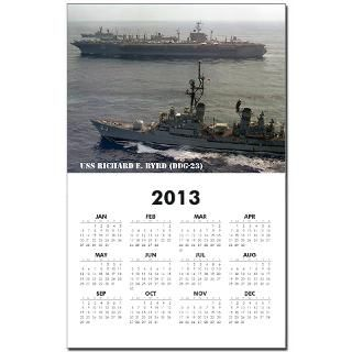 23 Gifts  23 Home Office  USS RICHARD E. BYRD (DDG 23) Calendar