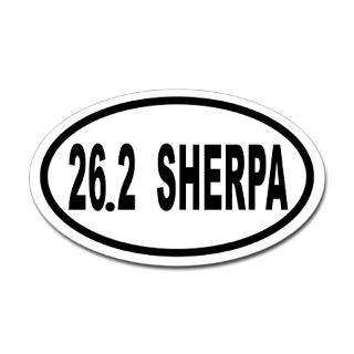 26.2 SHERPA Euro Oval Sticker