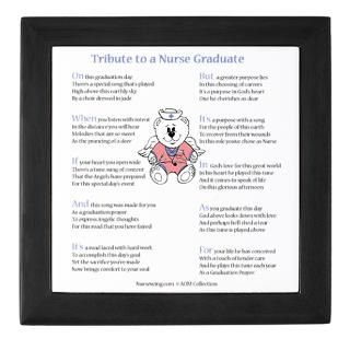 Nurse Graduation Poems Keepsake Boxes  Nurse Graduation Poems Memory
