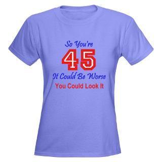 45th Birthday Shirt, 45th Birthday T shirt, 45th Birthday Gift Ideas