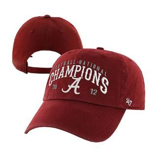 Alabama Crimson Tide 47 Brand Crimson 2012 BCS Na for $23.99