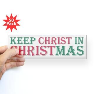 Keep Christ star Bumper Sticker (50 pk) for $190.00