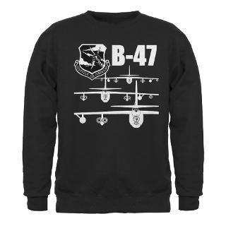Force Gifts  Air Force Sweatshirts & Hoodies  SAC B 47 Sweatshirt