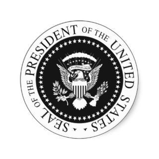 Seal Of The President Sticker