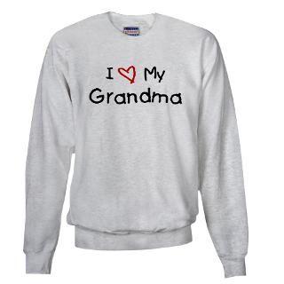 Love My Grandma Hoodies & Hooded Sweatshirts  Buy I Love My Grandma