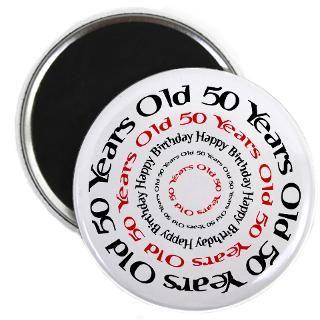 50 Birthday Sayings Magnet  Buy 50 Birthday Sayings Fridge Magnets