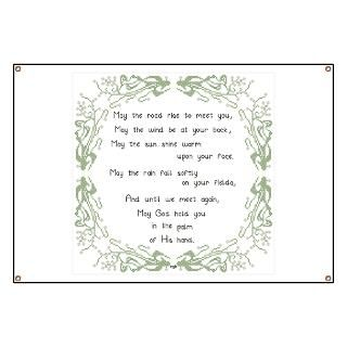 Irish Blessing Banner for $59.00