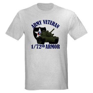 72nd Armor (M 60) Light T Shirt