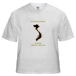 1St Cavalry Division Vietnam T Shirts  1St Cavalry Division Vietnam