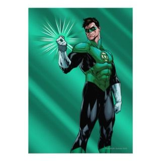 Green Lantern & Ring Custom Invitation