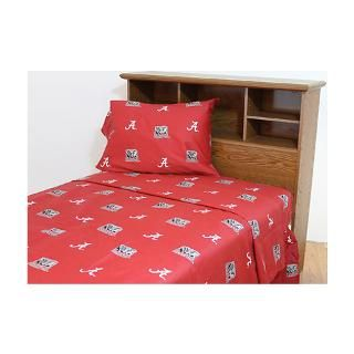 Alabama Crimson Tide Printed Sheet Set   Full for $74.99