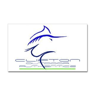 Blue Marlin Stickers  Car Bumper Stickers, Decals