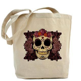 Sugar Skulls Bags & Totes  Personalized Sugar Skulls Bags