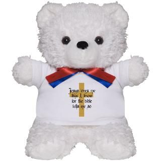 Bible Verse Teddy Bear  Buy a Bible Verse Teddy Bear Gift