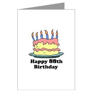 Happy 88Th Birthday Greeting Cards  Buy Happy 88Th Birthday Cards