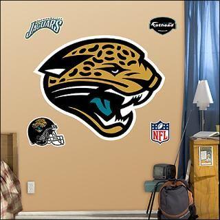 jacksonville jaguars logo fathead wall graphic $ 89 99