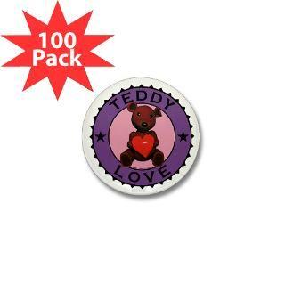 teddy bear love mini button 100 pack $ 94 99