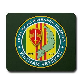 101st Radio Research Company Mousepad