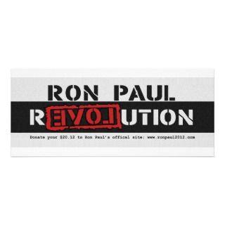 Ron Paul rEVOLution 2012 www.ronpaul2012 Custom Invites
