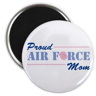Proud Air Force Mom 2.25 Button (100 pack)