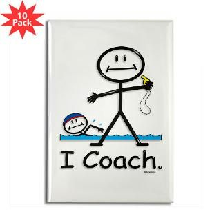Swimming Coach  BusyBodies Stick Figure T shirts and unique Gifts