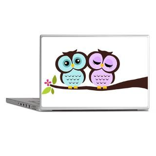 Animals Gifts > Animals Laptop Skins > Lovely Owl Couple Laptop