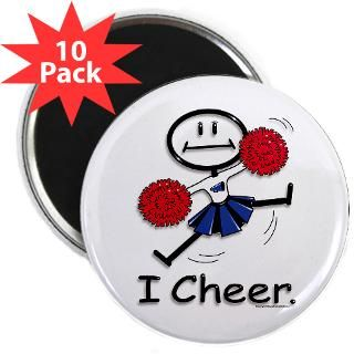 Cheerleader  BusyBodies Stick Figure T shirts and unique Gifts
