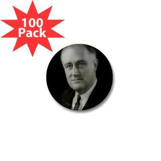 Franklin Roosevelt Mini Button (100 pack) for $125.00