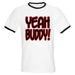 Jersey Shore Yeah Buddy T Shirt by ClassicNineTees
