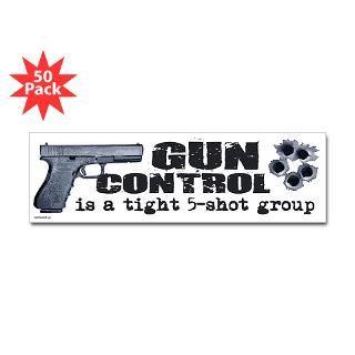 gun control bumper sticker 50 pk $ 126 99
