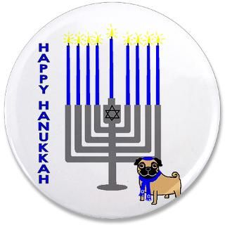 Happy Hanukkah  RainbowPugs
