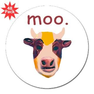 Moo Cow  Funny Animal T Shirts