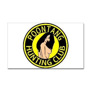Hunting Club Stickers  Car Bumper Stickers, Decals